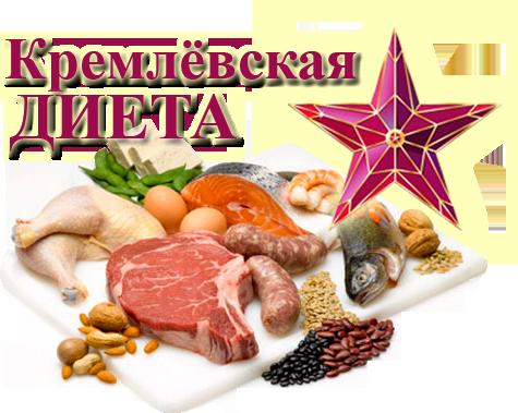 Кремлевская диета для похудения. Таблица, меню кремлевской диеты.